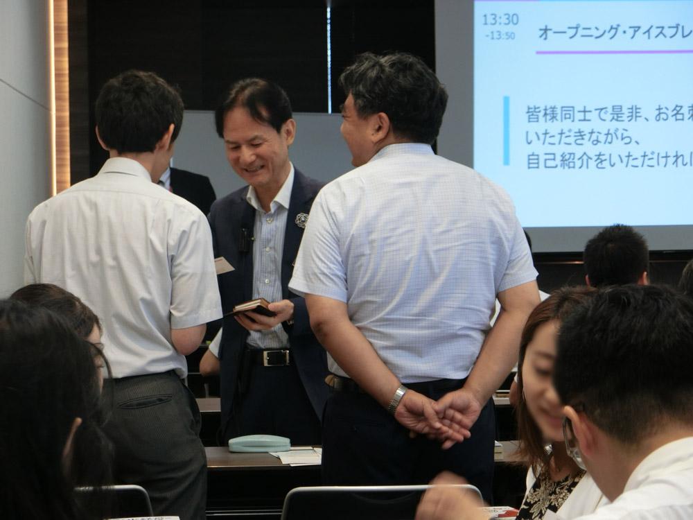 柳良平氏 第1回柳良平塾の様子